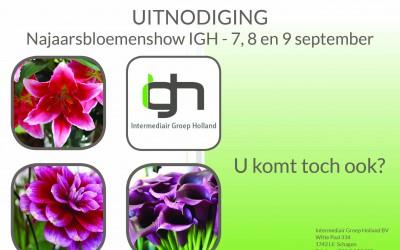 Uitnodiging kennissessie en najaarsbloemenshow